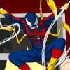 Here is a Spiderman customization game