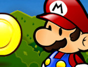 Dodge the falling obstacles such as the classic angry-rocks, bomb-bullets, american footballs and fireballs as you collect the coins and Yoshi tokens that are falling from the sky! Pick between Luigi and Mario, and try to collect as many coins as you can before you run out of lives!