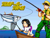 This is our newest exclusive game, Trap-a-Tuna a funfilled game where you will learn how to fish. Once learned you will be employed by a very big company which will request tons of fish from you, so you must be good at it, right? Complete the 25 levels of this awesome game.